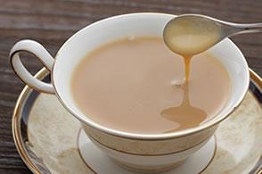 紅茶に入れて